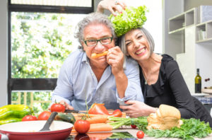 functional medicine food prep couple